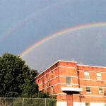 Photo of a double rainbow in Camden